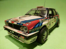 KIT (BUILT) 1:24 LANCIA DELTA INTEGRALE - MARTINI 7 -   RARE SELTEN - GOOD COND