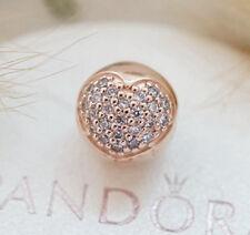 Genuine Pandora Rose Gold Love of My Life Clip Bead Charm 781053CZ