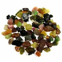 100%Natural Multi Tourmaline Small Rough Lot Loose Gemstone