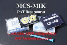 Sony DAT Recorder Kostenvoranschlag f. Sony 3Motoren Laufw.Reparatur von MCS-MIK