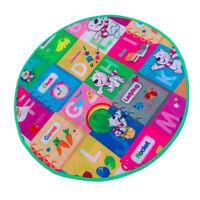 Baby Carpet Play Round Mat Foam Mats Toddler Crawl Playmat for Tent