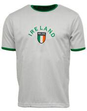 Camiseta de fútbol blanco talla L