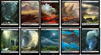 Set of 10 Dual Lands —— Full Art Borderless / Alternative Art