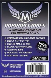 50 Premium USA Sleeves (56 MM X 87 MM) MDG7076