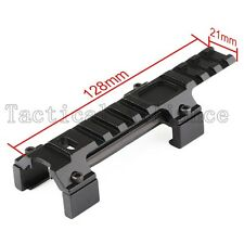 Tactical Scope Mount Top Side 20mm Picatinny Weaver Rail Extension Adapter Base