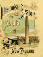 Boston, MA Massachusetts History Family Genealogy Directory 49 Book Set - C559