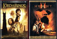 The Lord of the Rings: The Two Towers (DVD, 2003, 2-Disc, WS) & The Mummy -WS