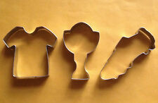 World cup soccer football  special party baking cookie cutter set (3pcs)