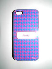 "PERSONALIZED NAME COVER FOR IPHONE 5/5S WITH 2 LAYERS PROTECTION  ""AMY"" NEW"