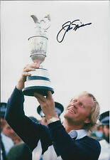 Jack NICKLAUS SIGNED Autograph 12x8 Photo AFTAL GOLF Masters Open PGA Winner