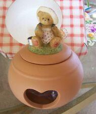Cherished Teddies Bear candle holder