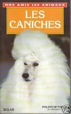 Livre les caniches Philippe de WAILLY book