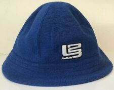 Lebron James Nike Air LBJ 23 NBA Blue Bucket Hat Embroidered RARE Rookie