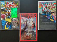 Amazing Lot of 3 Signed Marvel Comics X-Men Romita Jr See Full List!