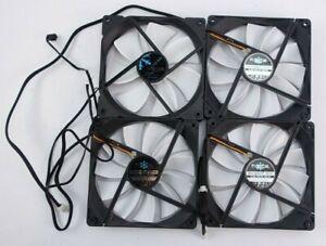 Fractal Silent Series 140mm Computer Case Fan Pack (Lot of 4)