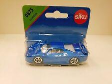 Siku 0875 Lega Pressofuso Racing Storm Modello di Auto Metallo Blu + Plastica