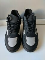 FILLING PIECES Paneled Black Leather Sneakers - Mens Size 41 EU / 8 US / 7 UK