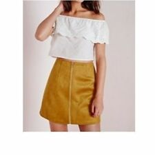 Women's Faux Suede Skirts Missguided