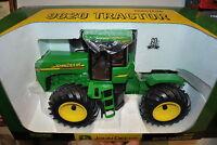 1/16 John Deere 9620 4wd tractor w/ single flotation tires, new in box by Ertl