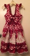 BTSSB Red Circus Print Tutu JSK dress sweet lolita