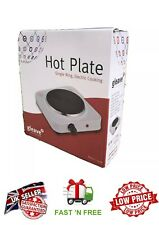 Electric Single Hotplate, 1500 W, 1.5kw White