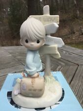 """Precious Moments 1989 """"Jesus Is The Only Way� Figurine #520756"""