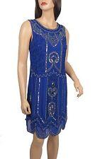 Lush Bird 1920's Gatsby fully embellished shift dress sizes 8 To 24 Plus Sizes