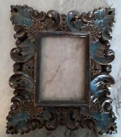 Vintage Ornate PICTURE FRAME Lot Recycle Arts shabby chic craft Deco Scroll leaf