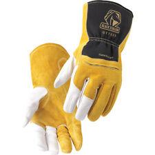 Premium Grain Goatskin, Cowhide, FR Cotton TIG Glove Size L
