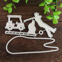 Golf Course Design Metal Cutting Dies For DIY Scrapbooking Album Cards marking H