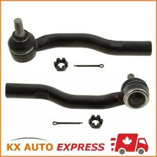 2X FRONT OUTER TIE ROD END FOR ACURA INTEGRA 1995 1996 1997 1998 1999 2000 2001
