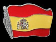 Metal Boucle de Ceinture Buckles Spanish Espana Flag Belt Buckle Spain