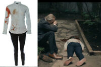 Condor Sarah Ellen Wong Screen Worn Bloody Stunt Shirt Pants & Shoes Ep 101-102