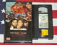 To Catch A King (VHS, 1984, TV Movie) Robert Wagner, Jack Higgins, Prism Video