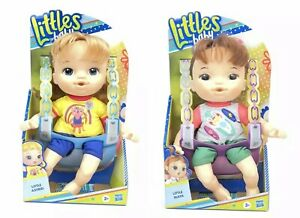 """Lot Of 2 Littles by Baby Alive Little Astrid & Maya Littles Squad 9"""" Girl Dolls"""