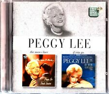 PEGGY LEE- The Man I Love 1957 / If You Go 1961 - 2 Classic LPs On 1 CD (2on1)