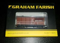 N Gauge Graham Farish 377-377A GWR 20T 'Toad' Brake Van BR Bauxite (Early) Wagon