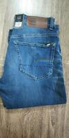 Gstar G-Star Raw Mens Jeans 3301 Tapered W31 L32 / blue stretch/ unique