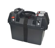 Marine 12 Volt Smart Battery Box For 24 to 27 Group Size Batteries