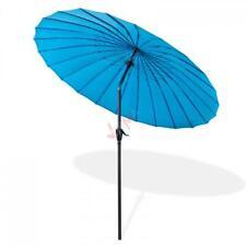 Parasol Tokio 2,5 m - Bleu azur D41279