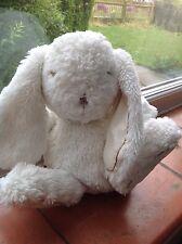 Tartine ET CHOCOLAT doudou lapin bianco Blanc Bunny Rabbit Trapunta Giocattolo Morbido