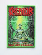 KREATOR [green] --- Woven Patch / Destruction Sodom Morbid Saint Protector