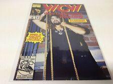WCW WORLD CHAMPIONSHIP WRESTLING #6 - MANKIND PHOTO COVER (MARVEL/1992/091876)