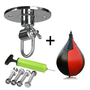 Speed Ball Training Punching Speed-Bag Boxing MMA Pear Punch Bag With Screws
