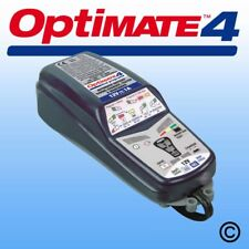 OPTIMATE 4 DUEL PROGRAM. 12V BATTERY SAVING CHARGER KARTING MOTORSPORT