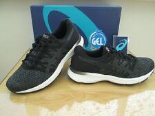 Asics Gel-Exalt 4 Hombre Gris Negro WT curso Correr Zapatillas Size UK 8.5 EU 43.5
