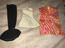 Vintage larger Barbie clone or Tammy Doll Size Lot clothes Dresses