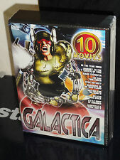 Galactica (DVD) 10-Movies Set! 5-Disc! In The Year 2889, Star Odyssey, NEW!