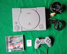 Sony Playstation 1 PS1 PSX 1002 Spiel Le Mans OVP Controller Memory Vintage