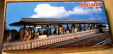 HO Vollmer # 3541 Covered Station Platform (Plastic Kit)